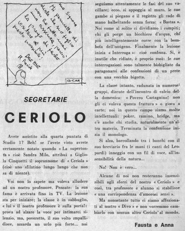 CETRIOLO